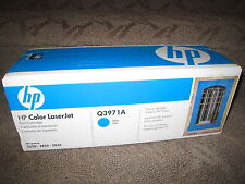 HP Q3971A Cyan Toner Cartridge OEM Genuine NEW 123A LaserJet 2550 2820 2840