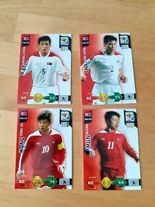 Panini Adrenalyn XL World Cup 2010 - Base Cards - North Korea x 4