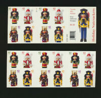 Nutcrackers  Booklet Pane of 20  #4363b (4360-63) Mint NH $35.00 Value Pl#S11111