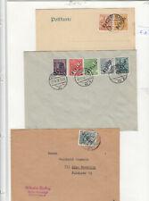 3137, Berlin schwarz Aufdruck kleine Sammlung Briefe Ganzsachen !