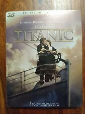 Titanic blu-ray steelbook 2D/3D Leonardo DiCaprio NEUF SOUS BLISTER