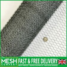More details for galvanised chicken wire mesh rabbit netting fencing fence net cages runs pens