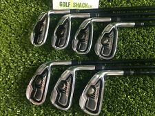 Taylormade Tour Burner Irons 5-Aw with REAX 65 Regular Graphite Shafts (5655)