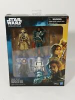 Star Wars Jedha Revolt Action Figure Set  Rogue One with Saw Guerrara 4-Pack
