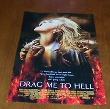 DRAG ME TO HELL MOVIE POSTER NEW Horror Halloween