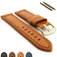 Men's Genuine Leather Watch Strap Band Pan. Style 20 22 24 26 28 CONSTANTINE MM