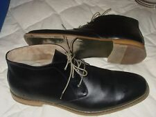 DEER STAGS SEATTLE MEN 16 M BLACK OXFORD BOOT CHUKKA LACE UP OXFORD SHOE GREAT