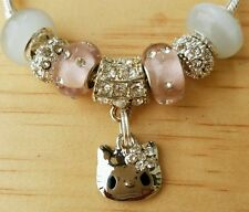 *ON SALE*Set of 7 Hello Kitty Themed charms for  European Bracelets