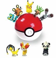 Lot of 5 Pokemon XY Monster Balls Blind Figure Pokeball Bank & Blind Toy Mystery