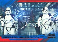 Star Wars Last Jedi S2 Blue Base Card #78 Preparing the Execution