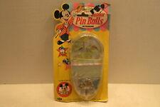 Walt Disney Junior Pin Balls Game by Durham Mickey Mouse Club Made in Hong Kong