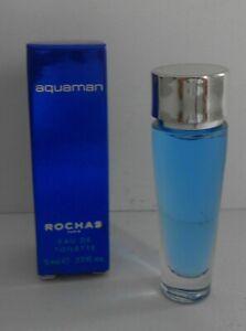 Miniature de parfum Aquaman de Rochas EDT 5ml + boite