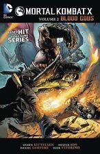 Mortal Kombat X Vol. 2: Blood Gods New Paperback Book Shawn Kittlesen, Dexter So