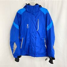 Sunice L 2010 Vancouver Winter Olympics Skiing Snowboard Hooded Jacket Coat NWT