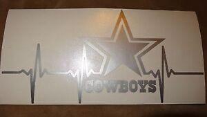 Dallas Cowboys Life car decal