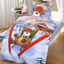 bettw sche im weihnachts stil aus 100 baumwolle g nstig kaufen ebay. Black Bedroom Furniture Sets. Home Design Ideas