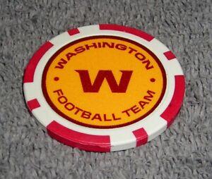 NFL WASHINGTON FOOTBALL TEAM SOUVENIR COLLECTIBLE POKER CHIP GOLF BALL MARKER