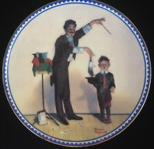 Norman Rockwell's: The Magician (Collector Plate)