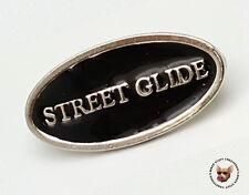 STREET GLIDE VEST PIN  * MADE IN USA * MOTORCYCLE BIKER JACKET PIN STREETGLIDE