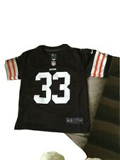 Cleveland Browns # 33 Richardson Nfl Football Jersey By Nike Youth Large ( 7 )