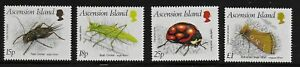 Ascension 1988 QEII Insects (2nd Series) - MNH
