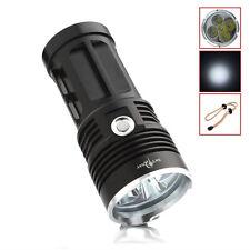 SKYRAY 5 x CREE XM-L T6 LED 8000LM Flashlight 3-Mode Torch Hiking Lamp