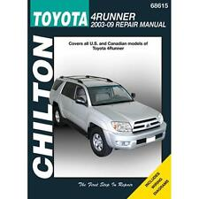 Chilton Repair Manual Toyota 4Runner, 2003-09