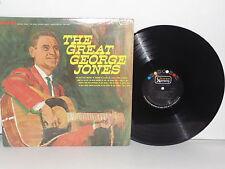 GEORGE JONES The Great George Jones LP Vinyl Stereo She Thinks I Still Care VG+