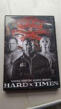 NWA Hard Times Wrestling DVD National Wrestling Alliance Nick Aldis AEW NJPW