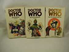 Doctor Who 3 Books Daleks Ice Warriors Loch Ness Monster Neil Gaiman Intro
