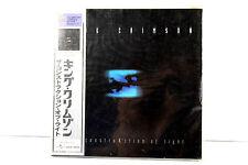 KING CRIMSON: THE CONSTRUKCTION OF LIGHT, JAPAN MINI LP CD, ORIGINAL, RARE