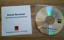 VELVET REVOLVER - PROMO CDR SINGLE - She Builds Quick Machines - RARE OOP