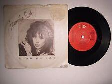 "JENNIFER RUSH - RING OF ICE - 7"" 45 rpm vinyl record"