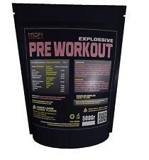 Pre Workout 500g, sabor limon, pre entreno PROPT