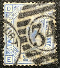Great Britain Stamp #82 Used Plate 23 1881