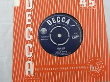 BILLIE DAVIS TELL HIM / I'M THANKFUL Decca 11572