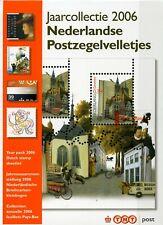 Nederland TNT jaarcollectie velletjes 2006
