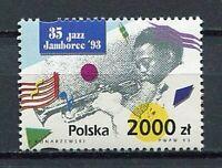 36013) Poland 1993 MNH 35th Intl. Jazz Jamboree 1v
