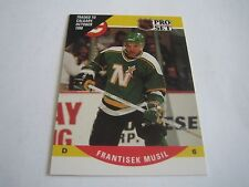 1990/91 PRO SET HOCKEY FRANTISEK MUSIL CARD #643***NORTH STARS/FLAMES***