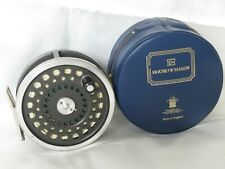HARDY MARQUIS SALMON NO1 REEL IN HARDY CASE  AND LINED