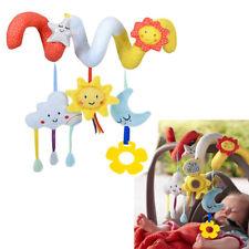 Baby Crib Cot Pram Hanging Rattles Spiral Stroller Car Seat Toy Home Use