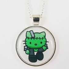 FRANKENSTEIN HELLO KITTY NECKLACE monster cure kawaii halloween horror spoopy