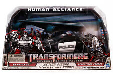 TRANSFORMERS BARRICADE DECEPTICON HUMAN ALLIANCE ROTF EDITION