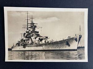 Ansichtskarte - 2. Weltkrieg  - orginal - Schlachtschiff Gneisenau