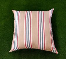 "Luxury Handmade Pet Bed  Large 24"" 61cm Stone striped 100% Cotton"