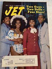 Vintage Jet Magazine April 7, 1977: Two Guys + Two Gals = Four Stars!