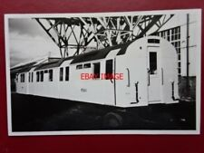 PHOTO  LONDON TRANSPORT UNDERGROUND TUBE  - PERSONNEL CARRIER AT ACTON WORKS