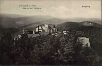 Goslar ~1910 Posthülfsstelle Hotel auf dem Steinberg Panorama mit Königsberg