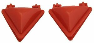 2 x TRIANGLE HINGED MOULD PRESS FOR SAMOSA RAVIOLI DUMPLING PIE MAKER