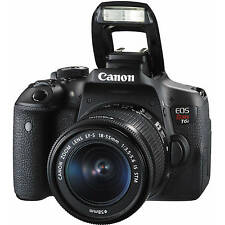 Canon Eos Rebel T6i / 750D Dslr Camera Body w/ 18-55mm Lens 0591C003 Sale